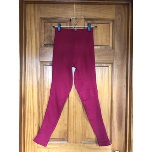 Lululemon Flow and Go Tight Cranberry Size 4